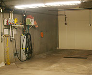 car wash bay, cornerstone cooperative, plymouth, mn, secure, senior living