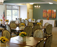 community room, cornerstone cooperative, plymouth, minnesota, carefree, senior living